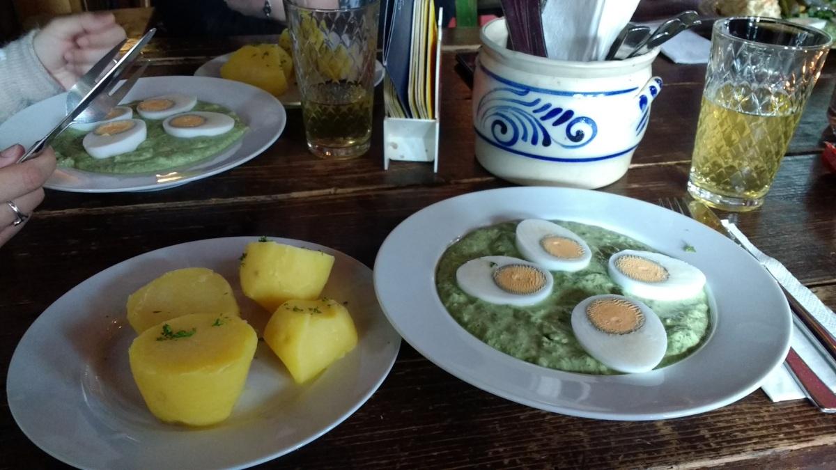 Grie Soß Festival: Wo gibt es die beste Grüne Soße in Frankfurt?